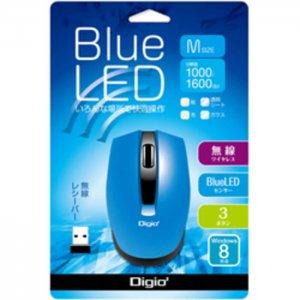 Blue LED Mouse