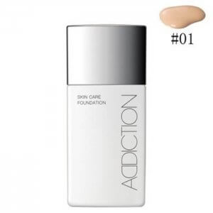Foundation with Skin Care Effect