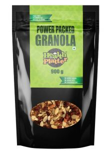 1. Health on a Platter Power Packed Granola