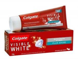 6. Colgate Toothpaste Visible White Plus Shine