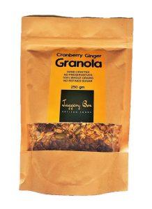 3.Jaggery Box Cranberry Ginger Granola