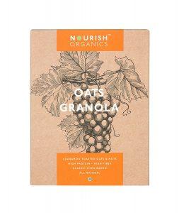 4.Nourish Organics Oats Granola