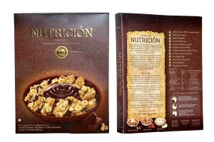 10.Nutrición Oats Quinoa Granola Cereal - Hazel Choco
