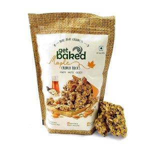 9. Get Baked Crunch Rocks Maple Oat Granola