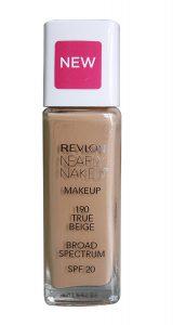 7. Revlon Nearly Naked Makeup True Beige