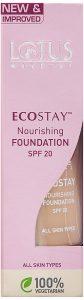 8. Lotus Herbals Ecostay Nourishing Foundation Royal Ivory