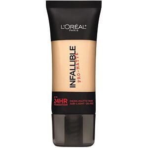 No.3L'Oreal Paris Cosmetics Infallible Pro-Matte Foundation