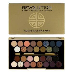 4. Makeup Revolution Fortune Favours The Brave Palette