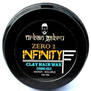 2. UrbanGabru Zero to Infinity Hair Wax for Strong Hold and Volume