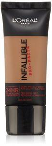 6. L'Oreal Paris Infallible Pro-Matte Foundation