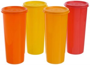 5. Tupperware Jumbo Tumblers Set