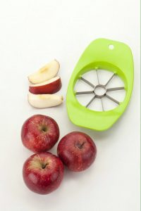 8. Tosmy Stainless Steel Premium Apple Cutter