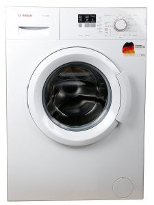 3. Bosch 6 kg Fully-Automatic Front Loading Washing Machine (WAB16060IN, White)
