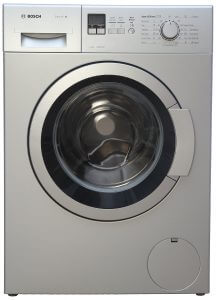 1. Bosch 7 kg Fully-Automatic Front Loading Washing Machine (WAK24168IN, Silver)
