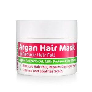 1. Mamaearth Argan Hairfall Control Mask