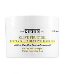 3. Kiehl's Olive Fruit Oil Deeply Repairative Hair Pak