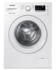 7. Samsung 6 kg Fully-Automatic Front Loading Washing Machine (WW60M206LMW/TL, White)