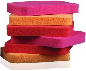 8. Colorbar Fair & Square Foundation Sponges