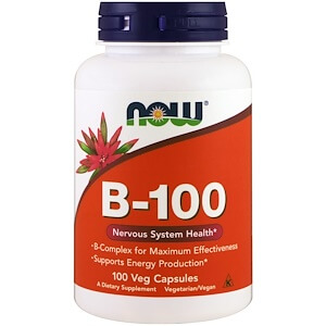 3. Now Foods B-100 tablets