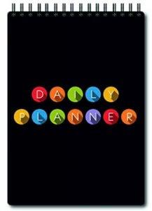 9. Printelligent Premium Spiral Bound Daily Planner
