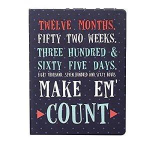 4.Doodle Make em Count Planner Notebook