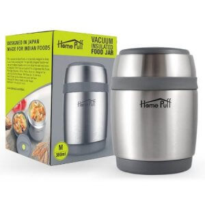 7.Home Puff Double Wall Vacuum Insulated Food Jar