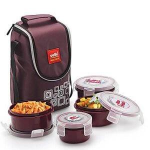 2. Cello Max Fresh Polypropylene Lunch Box