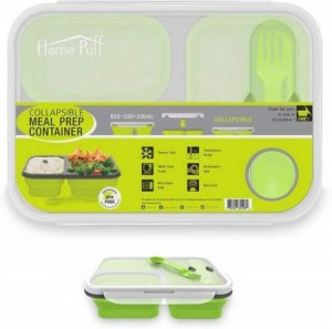 1. Home Puff Collapsible Lunch Box