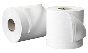 Double '2-Ply' Toilet Paper for Comfort
