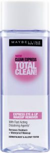 4. Maybelline New York Clean Express Total Clean Makeup Remover