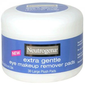 8. Neutrogena Extra Gentle Eye Makeup Remover Pads
