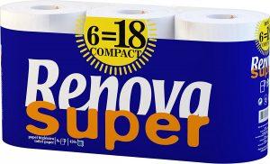 5. RENOVA Super Compact Toilet Paper