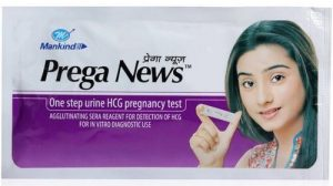 1. MANKIND Prega News Pregnancy Test