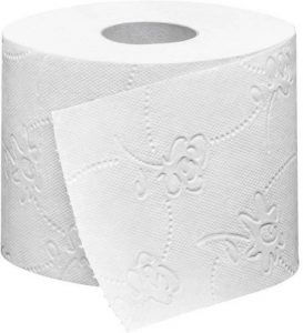 Embossed Toilet Paper for a Softer, Cushion Feeling