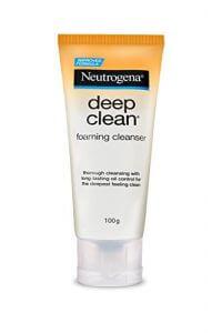 1. Neutrogena Deep Clean Foaming Cleanser