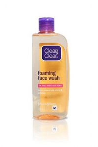 4. Clean And Clear Foaming Face Wash