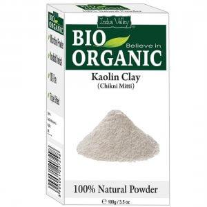 8. Indus Valley Natural Kaolin Clay Powder