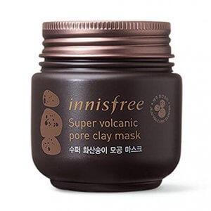 2. Innisfree Super Volcanic Pore Clay Mask