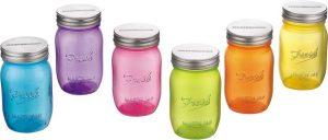 9. Fresh Mason jar