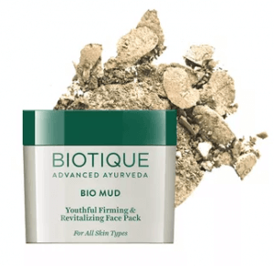 5.Biotique Bio Mud Youthful Firming & Revitalizing Face Pack