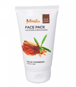 6.Fabindia Haldi Chandan Face Pack