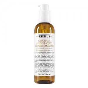 8. Kiehl's Calendula Foaming Face Wash