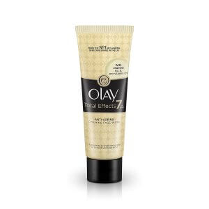 10. Olay Total Effects 7 in 1 Anti-Ageing Foaming Face Wash