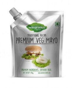 10.Wingreens Farms Premium Veg Mayo