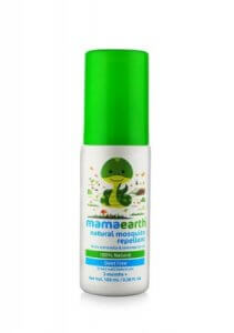 10. Mamaearth Natural Insect Repellent for Babies