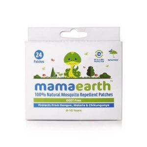 7. Mamaearth Natural Mosquito Repellent Patches for Kids