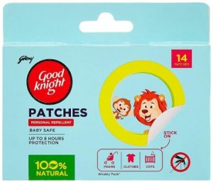 5. Good Knight Patches Personal Mosquito Repellent