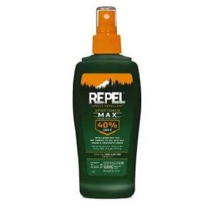 3. Repel Insect Repellent Sportsmen Max 40% DEET Spray