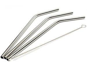 1. Asier Stainless Steel Straws
