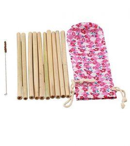 5. Manglam Herbs Bamboo Straws